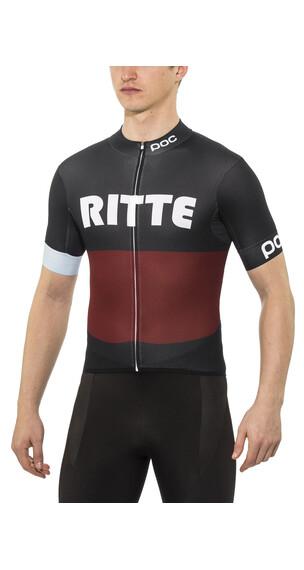 POC Ritte Kortärmad cykeltröja Herr röd/blå